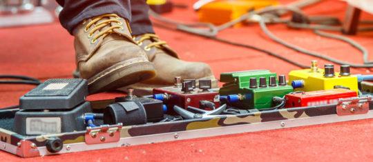 Pédales d'effets guitare électrique